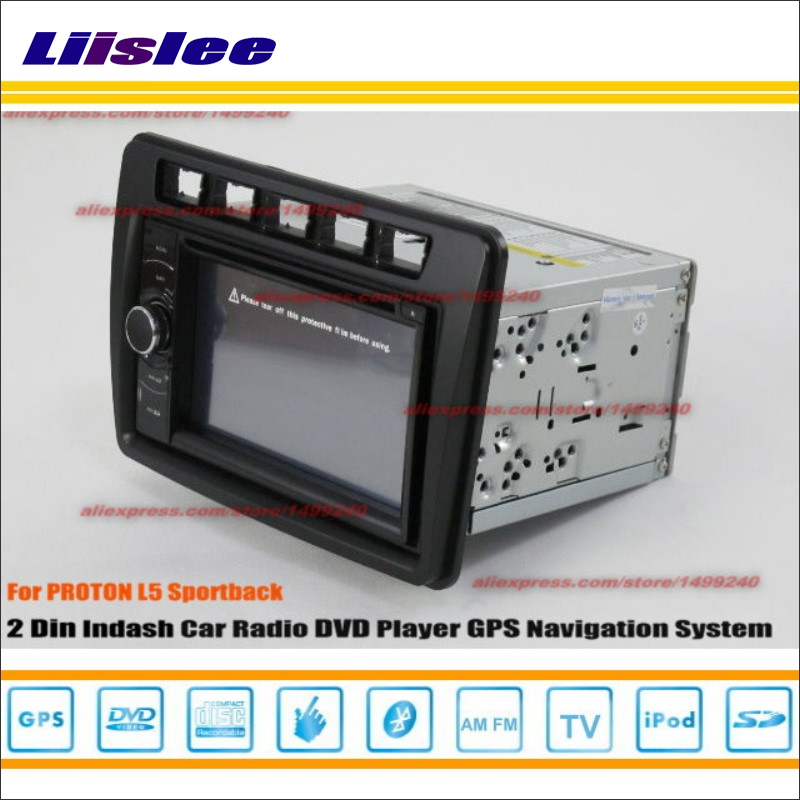 Liislee For Proton Lotus L5 2012-2013 Car Radio Stereo CD DVD Player GPS NAVI HD Touch Screen Audio Video Nav Navigation System