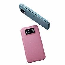 Мощность Bank 20000 мАч внешний Батарея повербанк двойной Порты usb Мощность банк Портативный мобильного телефона Батарея Зарядное устройство для телефонов Планшеты