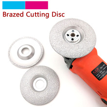 1pcs 4/5 inch Vacuum Brazed Diamond Cutting Grinding Disc Cutter Shaping Polishing Stone Glass Ceramics Grinding Wheel 125/100mm