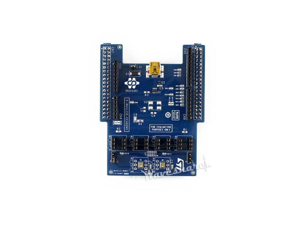 Modules STM32 Nucleo X-NUCLEO-CCA02M1, Digital MEMS microphones expansion board based on MP34DT01-M Free shipping module stm32 x nucleo idb04a1 bluetooth low energy expansion board based on bluenrg for stm32 board nucleo