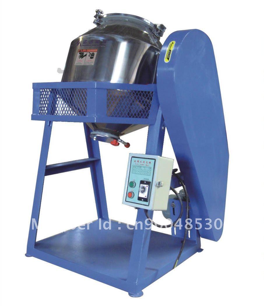 Plastic powder mixer, 360 degree drum mixer, powder mixing