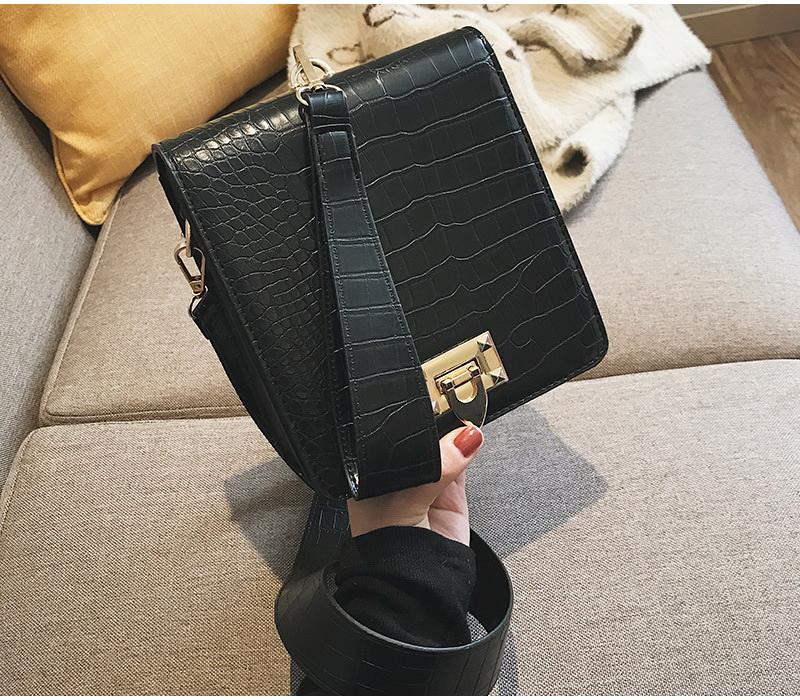 DIINOVIVO Fashion Alligator Female Handbags Designer Crossbody Bags for Women Small Square Bag Shoulder Messenger Purse WHDV0917 20