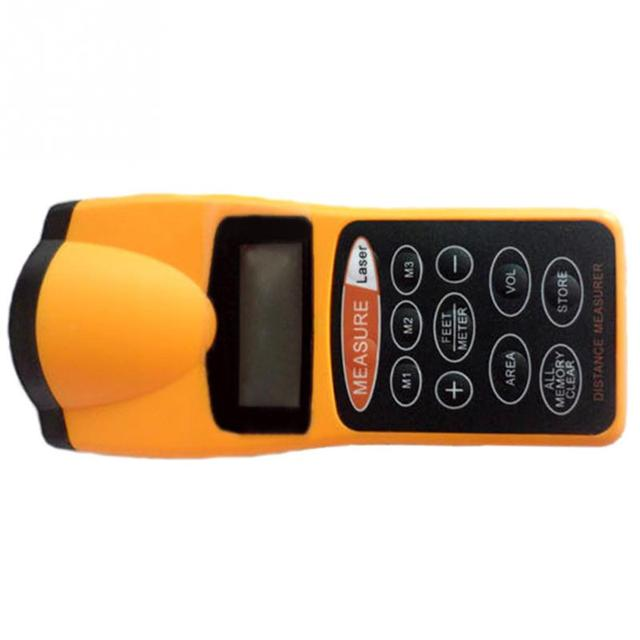 Volume tool CP-3007 Plastic+Metal 0.05 18m Digital Laser distance meter Rangefinder Range finder Tape measure Area