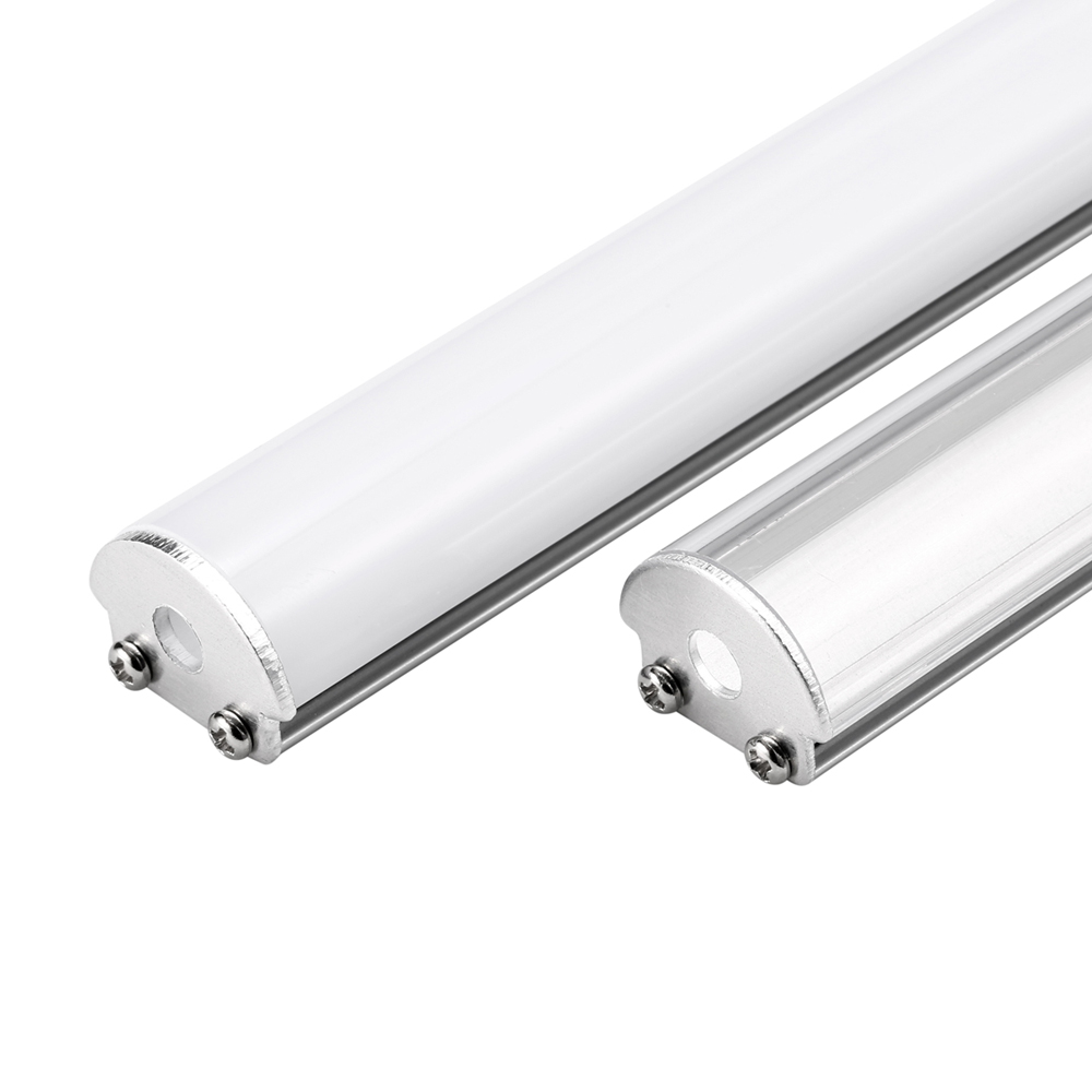 20m(10pcs) a lot, 2m per piece, Aluminum profile for led sign strips light with milky diffuse cover