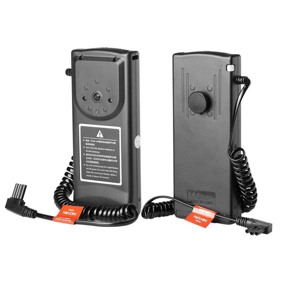 Godox CP80 Flash External Battery Pack for nikon SB800 SB900 Speedlite 8AA Batteries