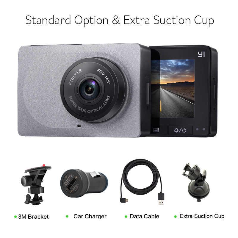 """[الطبعة الدولية] Xiaomi يي الذكية داش كاميرا 165 درجة 2.7 """"جهاز تسجيل فيديو رقمي للسيارات 1080P 60fps أداس آمنة تذكير WIFI Dashcam"""