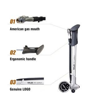 Новый Giyo GS02D велосипедный насос, портативный воздушный насос, вилка, воздушный насос давления со шлангом, барометр, велосипедный Mtb велосипе...