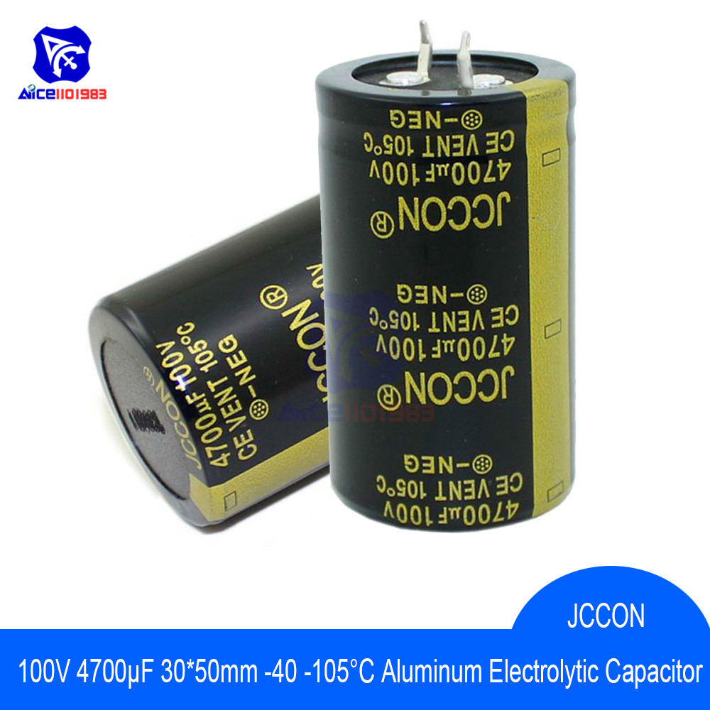 Aluminum Electrolytic Capacitor 100V 4700uF 30x50mm High Frequency Low ESR 100V4700μF 30*50mm Capacitor