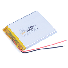 606067 3.7V 2300mAh Rechargeable li-Polymer Li-ion Battery For Bluetooth Notebook Tablet PC Consumer electronics E-book 066067