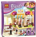 NEW BELA 10165 assemblage building blocks 252p Girl friends series city cake shop toys bricks gift Compatible With LEGOE i41006