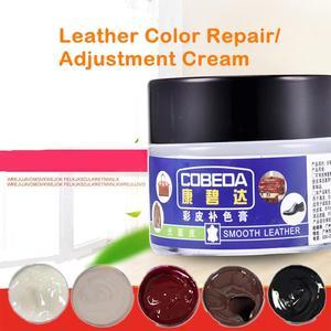 Набор крема для ремонта кожи автомобиля, чехлы для диванов, отверстия, царапины, трещины, уход за кожей, нетоксичный, эффективный, дополнител...