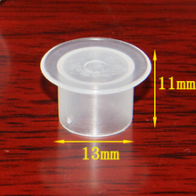 1000pcs 11x13mm Plastic Disposable Tattoo Ink Holder Cups Pigment Supplies Permanent Makeup