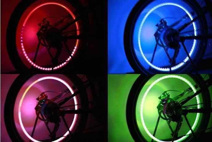 Groothandel Motor Bike Autobanden Ventiel Wiel LED Light Groothandel 1J4B