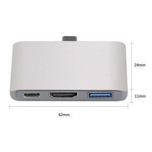 Image 3 - Adaptador USB C a HDMI Thunderbolt 3, compatible con PD, modo Dex para teléfono Samsung, Nintendo Switch, Macbook Pro/Air tipo c