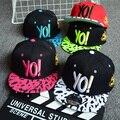 TDX-C8 Freeshipping Child hat baseball cap male child yo ! hiphop cap hip-hop cap bonnet cap 2016