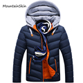 Mountainskin Winter Men Jacket Warm Men Parkas Thick Hooded Male Coats Fashion Thermal Hoodies Casual Brand Clothing LA141