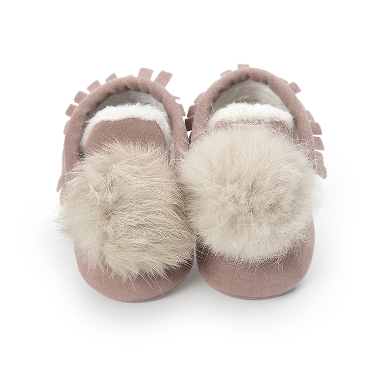 Fashion New Winter Infant Baby Walking Shoes Toddler Warm Short Boots