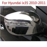 ABS 크롬 백미러 커버 트림/백미러 장식 현대 ix35 2010-2011 자동차 커버 자동차 커버