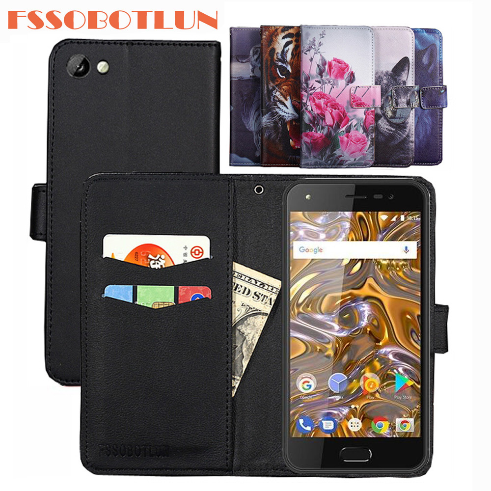 Phone Bags & Cases Business Vintage Flip Case For Digma Linx A501 4g Case 100% Special Cover Pu And Down Plain Cute Phone Bag Cellphones & Telecommunications