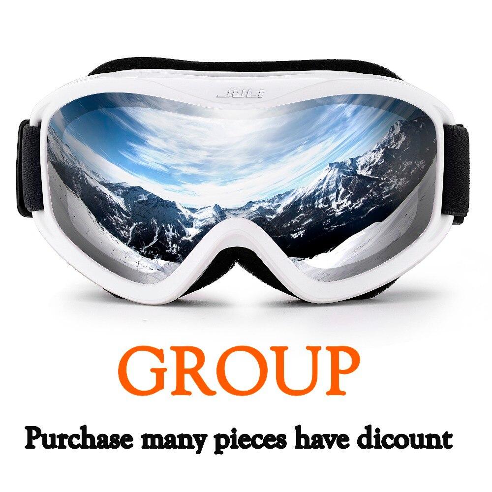 Lunettes de Ski-lunettes de neige 100% UV400 Protection lunettes de neige pour hommes et femmes, 2 pièces-10 pièces