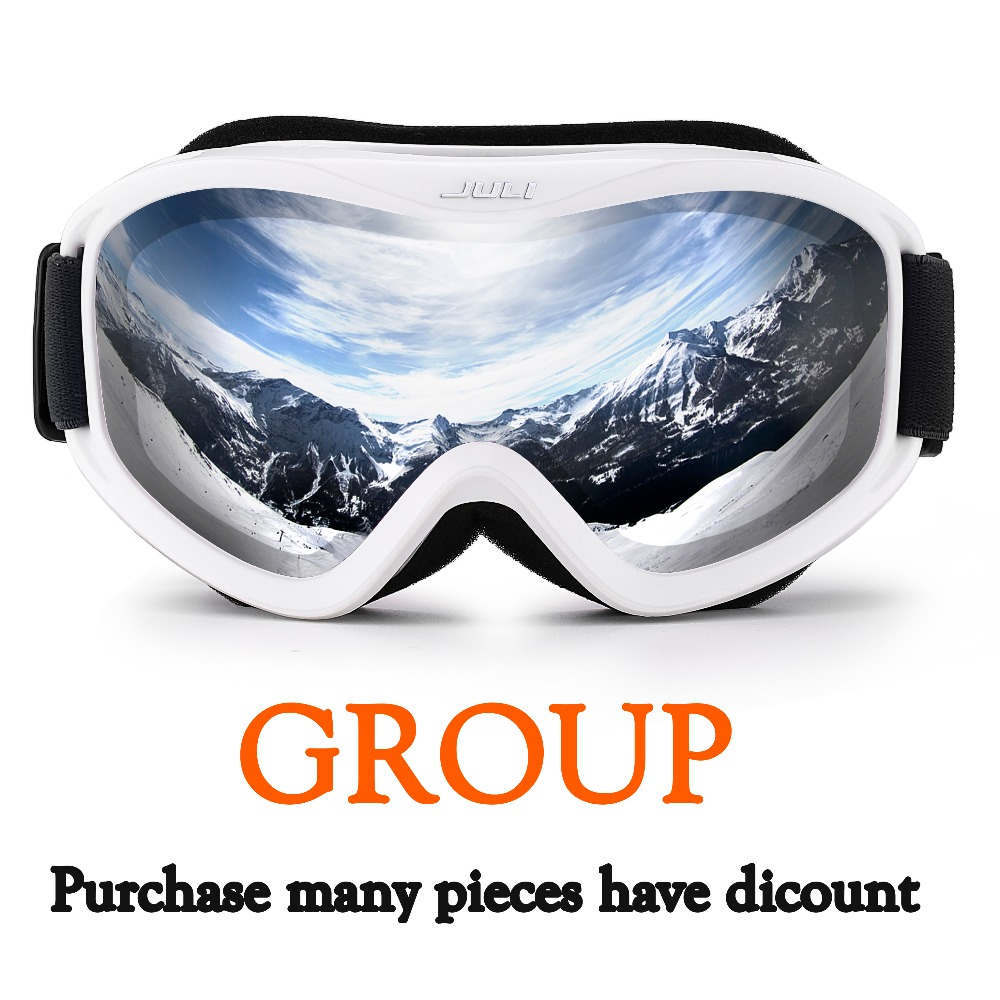 Ski Goggles -Snow Goggles 100% UV400 Protection Snow Goggles for Men & Women, 2 PCS-10 PCS free shipping csg goggles 38 kinds of fashionable ski goggles the new fashion personality ski goggles double lens ski goggles
