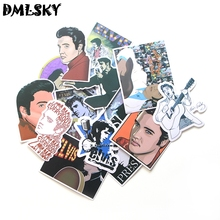 14 Pcs/set DMLSKY The King funny PVC Scrapbooking for Car Luggage Laptop Decal Home Bedroom Diy Decoration M3119
