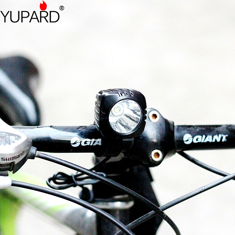 yupard Bicycle Light 3 Mode XM-L T6 LED cycling Front Light Bike lights Lamp Torch + Waterproof Battery Pack + Charger trustfire tr d017 usb bike light 2000 lumens 3 mode xm l l2 led bicycle front light with battery pack for cycling