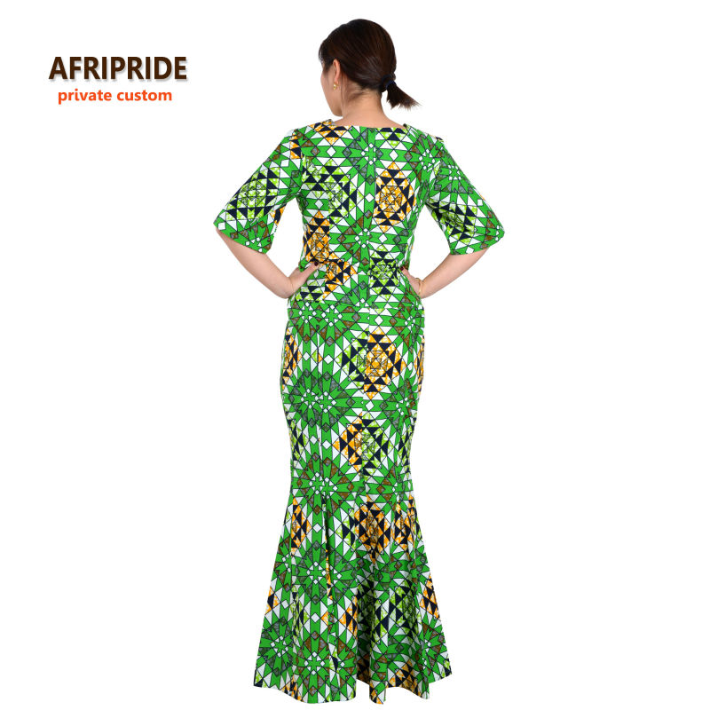Klasična afrička odjeća za žene dvodijelna haljina party set - Nacionalna odjeća - Foto 3