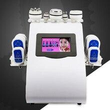 6in1 40k Ultrasonic liposuction Cavitation 8 Pads LLLT lipo Laser Slimming Machine Vacuum