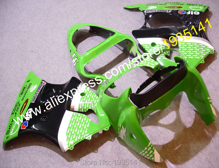 Hot Sales,NINJA ZX6R fairings For Kawasaki Cowling 2000 2001 2002 ZX 6R fashion motorbike kit ZX-6R fittings (Injection molding)
