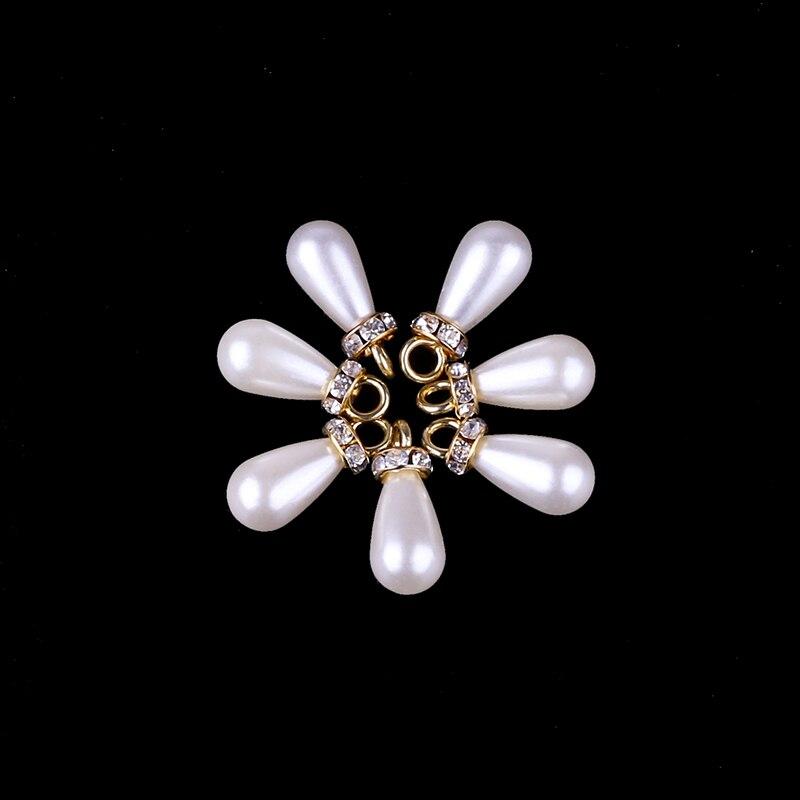 10*24mm Hängenden Bohrer Tropfen Ohrring Perlen 30 Teile/los Großhandel Elfenbein Faux Perle Perlen Für Diy Schmuck Herstellung Ohrring Duftendes Aroma