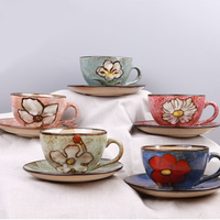Useber Ceramic Cups Japan And South Korea European And American Style Retro Handmade Coffee Cups A