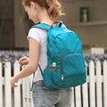 Hembra impermeable de nylon del bolso ocasional hombre mujer paquete de admisión bolsa de viaje bolsas mochila plegable ultra portátil