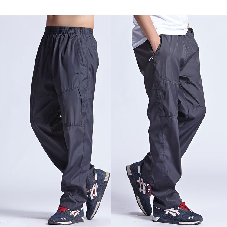 afb764733b1 Dropwow Grandwish 2018 New Outside Mens Exercise Pants Quickly Dry ...