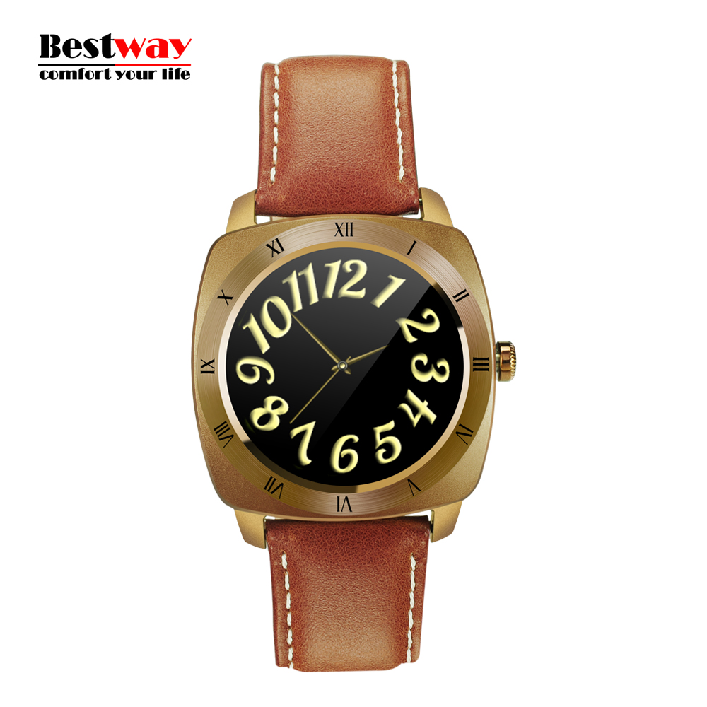 DM88 font b Smartwatch b font Smart Electronics Android IOS Smart Watch Watches Digital watch Heart