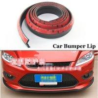 For Audi TT TTS B5 B7 C6 Q5 Q7 SQ7 S3 S4 RS4 A4L Car Styling 2.5m Universal Car Front Rubber Bumper Lip Splitter Skirt Protector