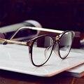 Round Full-Rim Glasses Frame Unisex Vintage Eyeglasses With Alloy Legs For Myopia Glasses kly2902