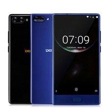 Doogee Mix 5.5 дюймов HD helio P25 смартфон Octa core 4 ГБ/6 ГБ Оперативная память + 64 ГБ Встроенная память 8MP + 16MP двойной сзади Cam отпечатков пальцев ободок-менее телефон