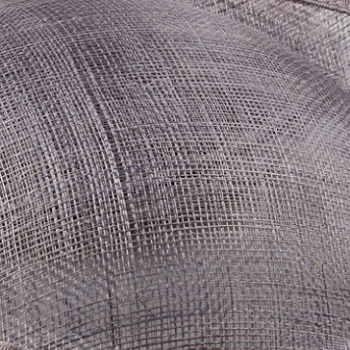 Шампань millinery sinamay вуалетки с перьями свадебные головные уборы Коктейльные Вечерние головные уборы Новое поступление Высокое качество 20 цветов - Цвет: Серый