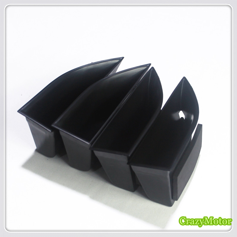 For Range Rover Evoque 2012-2015 Car Inner Handle Armrest Storage Box glove case holder Auto accessories Car organizer