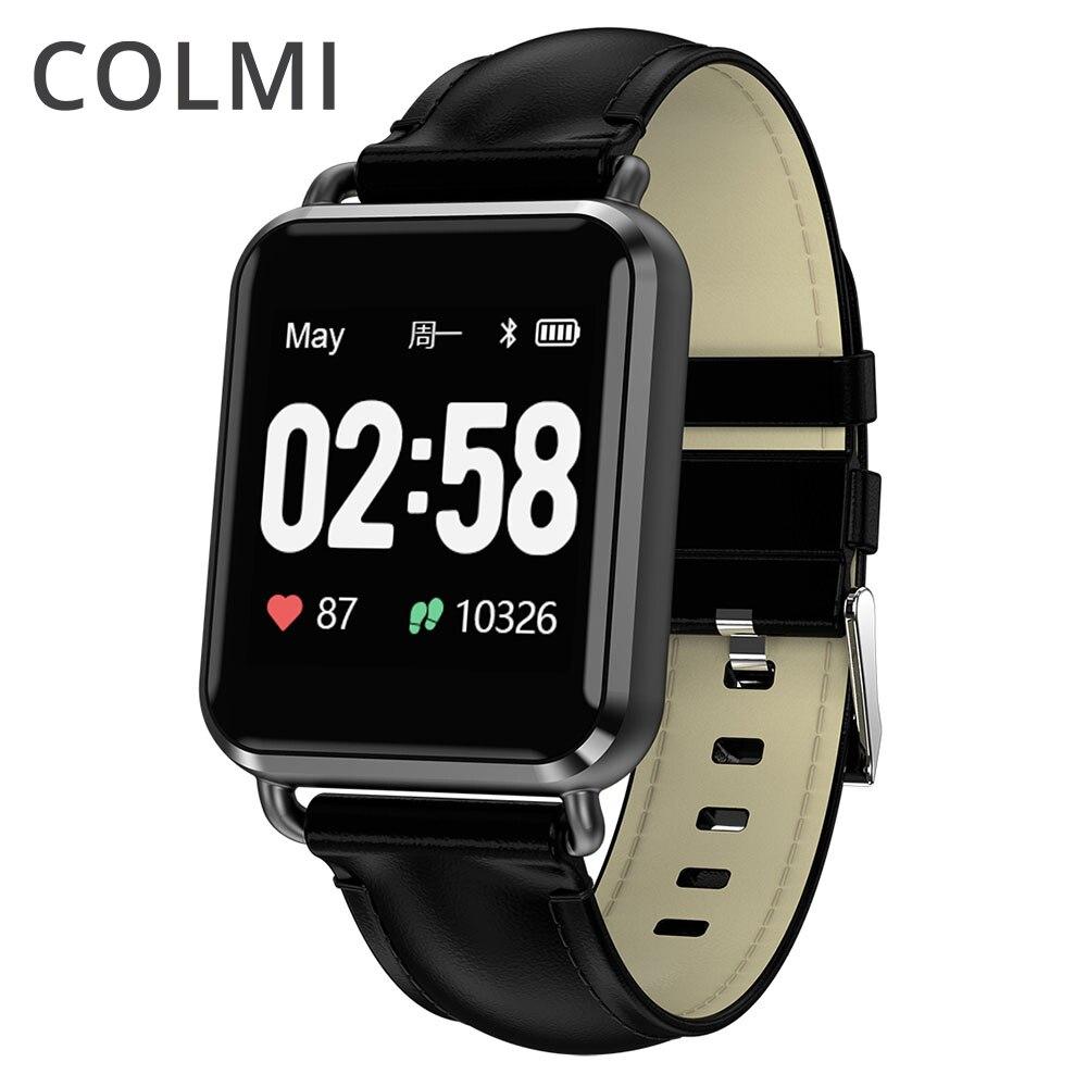 Colme de ECG Smartwatch electrocardiografía corazón Monitor de ritmo inteligente reloj de actividad Fitness Tracker reloj para IOS Android