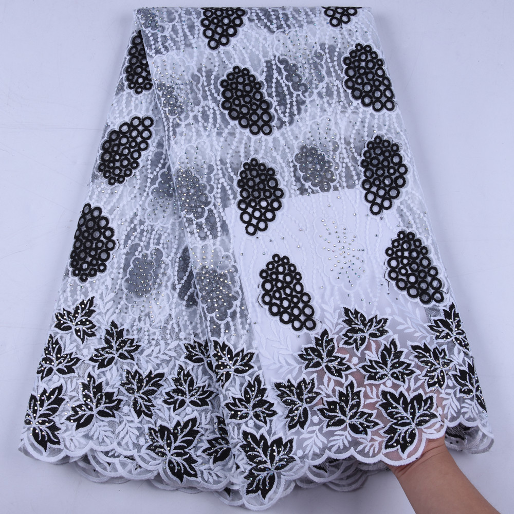 New Milk Silk Lace African Lace Fabric Embroiderey Design French Lace Fabric High Quality Nigerian Lace