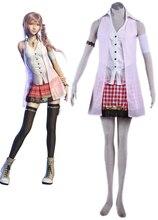 Final Fantasy 13 Serah Farron Cosplay Costume Custom Made цена