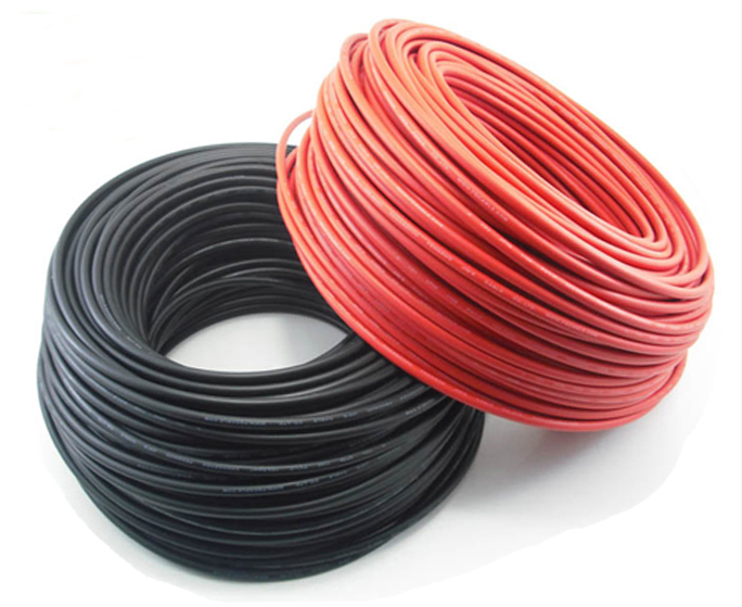 200meters Roll 6mm2 Solar Cable 10awg 1x6mm2 Solar Pv