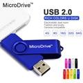 Rodada Drive USB OTG unidade flash usb do telefone inteligente Tablet PC USB Flash drive pendrive OTG armazenamento Externo cartão de memória micro vara