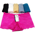 Women's Sexy Lace Boxer Briefs See Through Underwear Panties Knickers