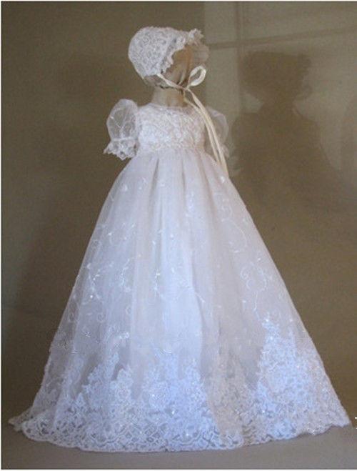 Luxus Hohe Qualität Baby, Kleinkind Mädchen Taufkleider Taufe Kleid - Babykleidung