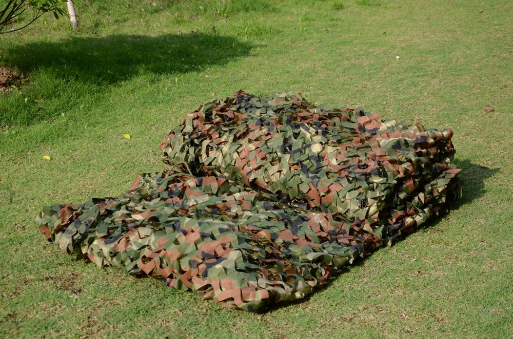 2M*4M Hunting Military Camouflage Net Woodland Army Camo netting Camping Sun Shelter Tent Shade