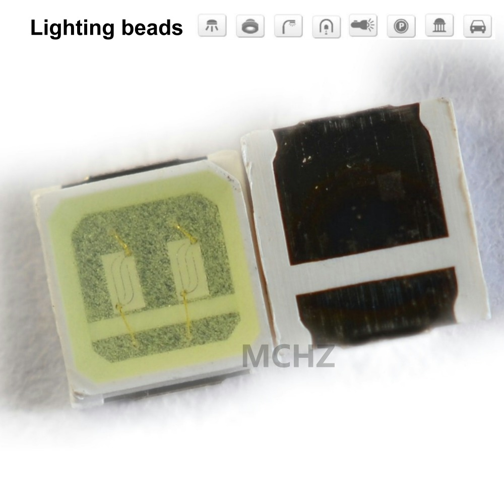 200 pièces 3030 SMD/SMT LED SMD 3030 LED montage en saillie blanc froid 3 V ~ 3.6 V 15000 K Ultra Birght diode LED puce 3030 blanc froid
