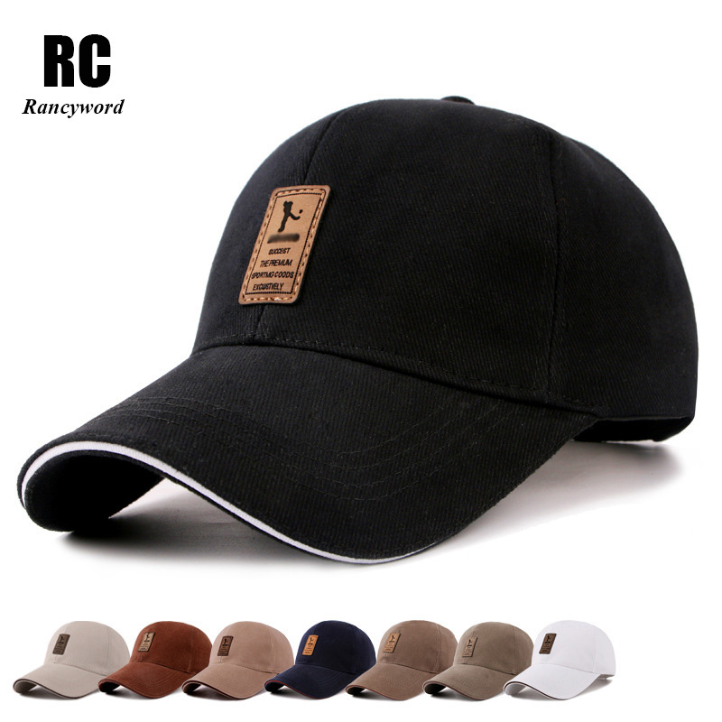 [Rancyword] Lelaki Kapas Kasual Golf Topi Lelaki Snapback topi Casquette Bone Gorras Hot Sale Top Brand Baseball Caps RC1051